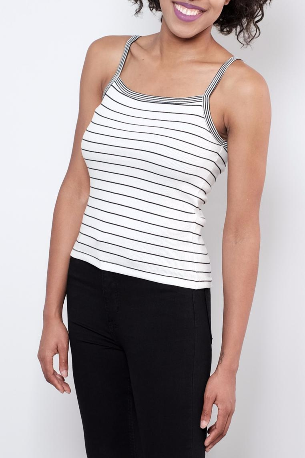 ONLY Striped Tank Top - Main Image