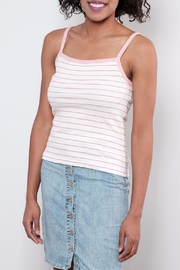 ONLY Striped Tank Top - Front cropped