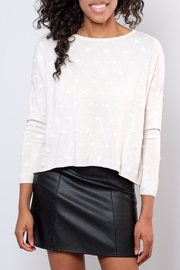 ONLY Textured Dot Pullover - Front full body