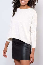 ONLY Textured Dot Pullover - Side cropped