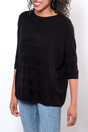 ONLY Textured Oversize Pullover Top - Front full body