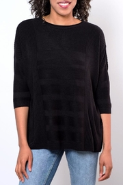 ONLY Textured Oversize Pullover Top - Front cropped
