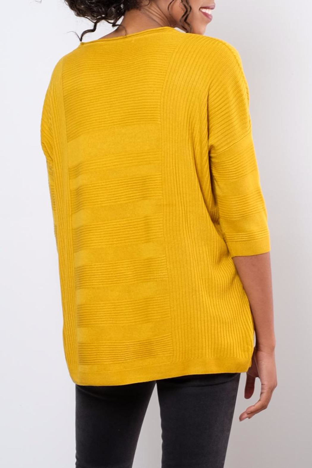 ONLY Textured Oversize Pullover Top - Side Cropped Image