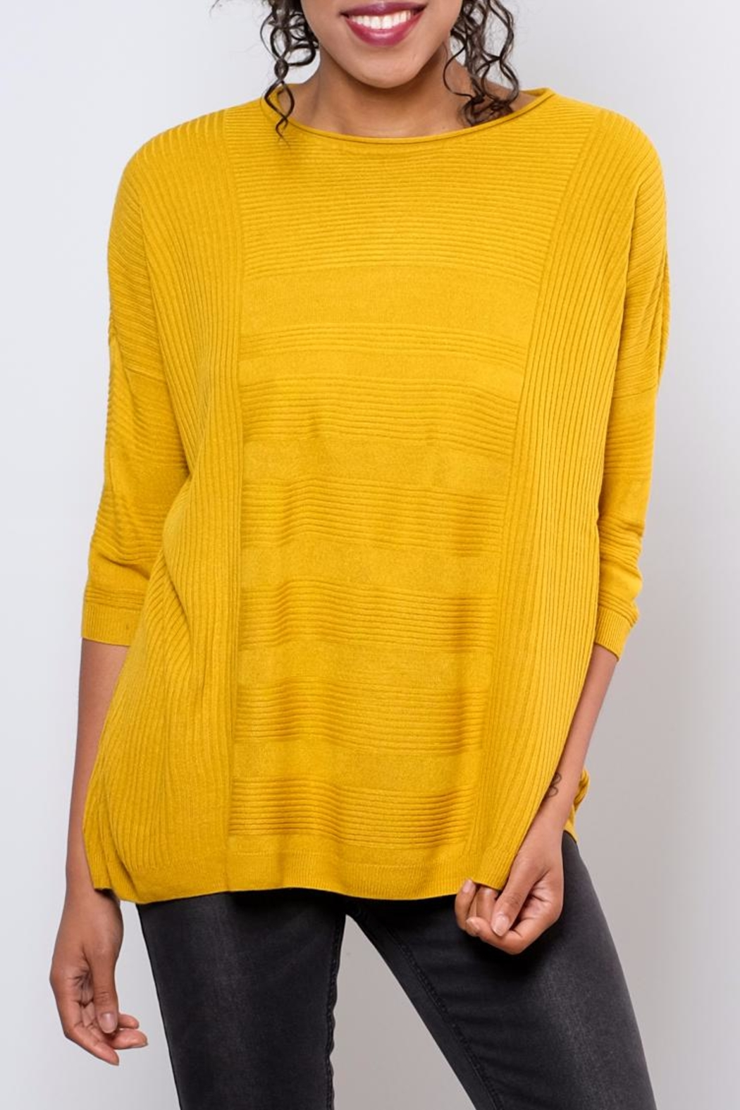 ONLY Textured Oversize Pullover Top - Main Image