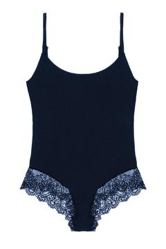 Shoptiques Product: Navy Sofine Bodysuit