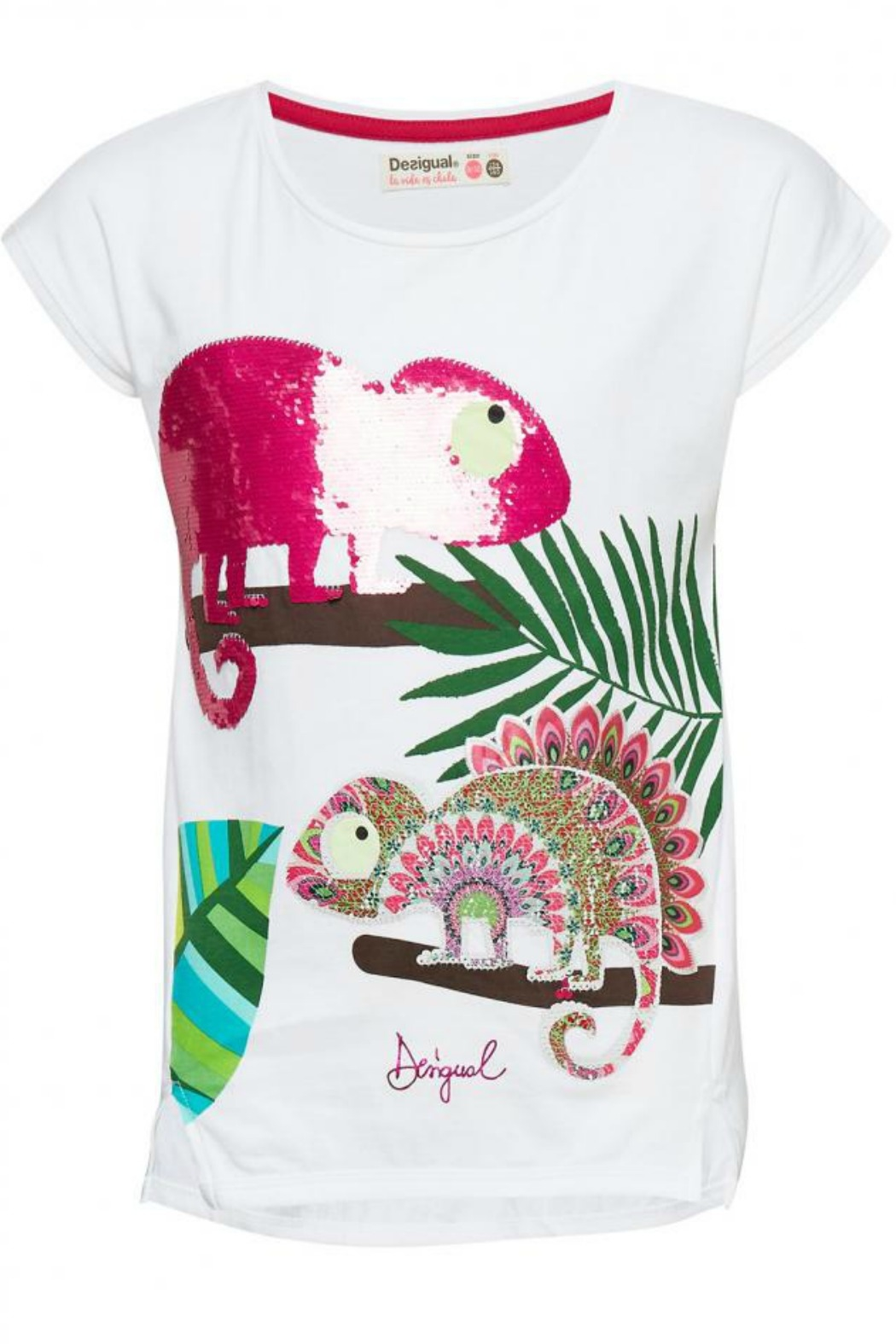 DESIGUAL Ontario Chameleon T - Front Cropped Image