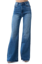 OnTwelfth High-Rise Wide-Leg Denim - Front cropped