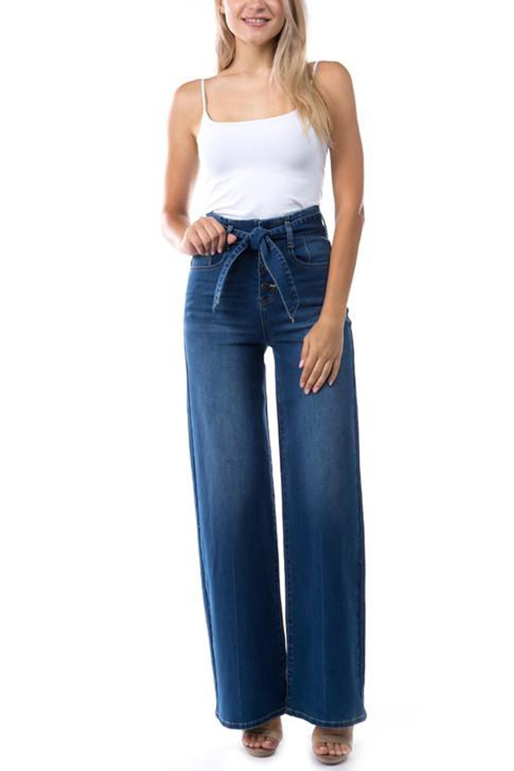 OnTwelfth High-Rise Wide-Leg Jean - Front Full Image