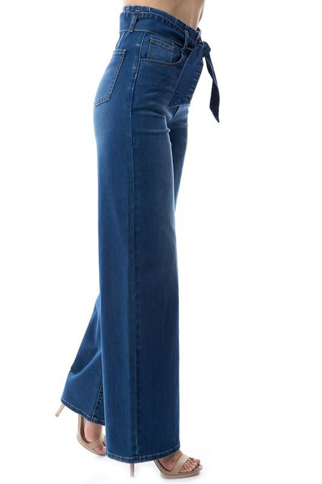 OnTwelfth High-Rise Wide-Leg Jean - Back Cropped Image