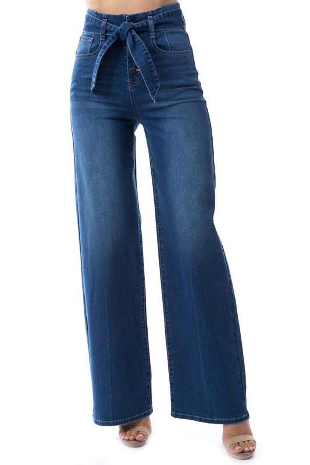 OnTwelfth High-Rise Wide-Leg Jean - Main Image