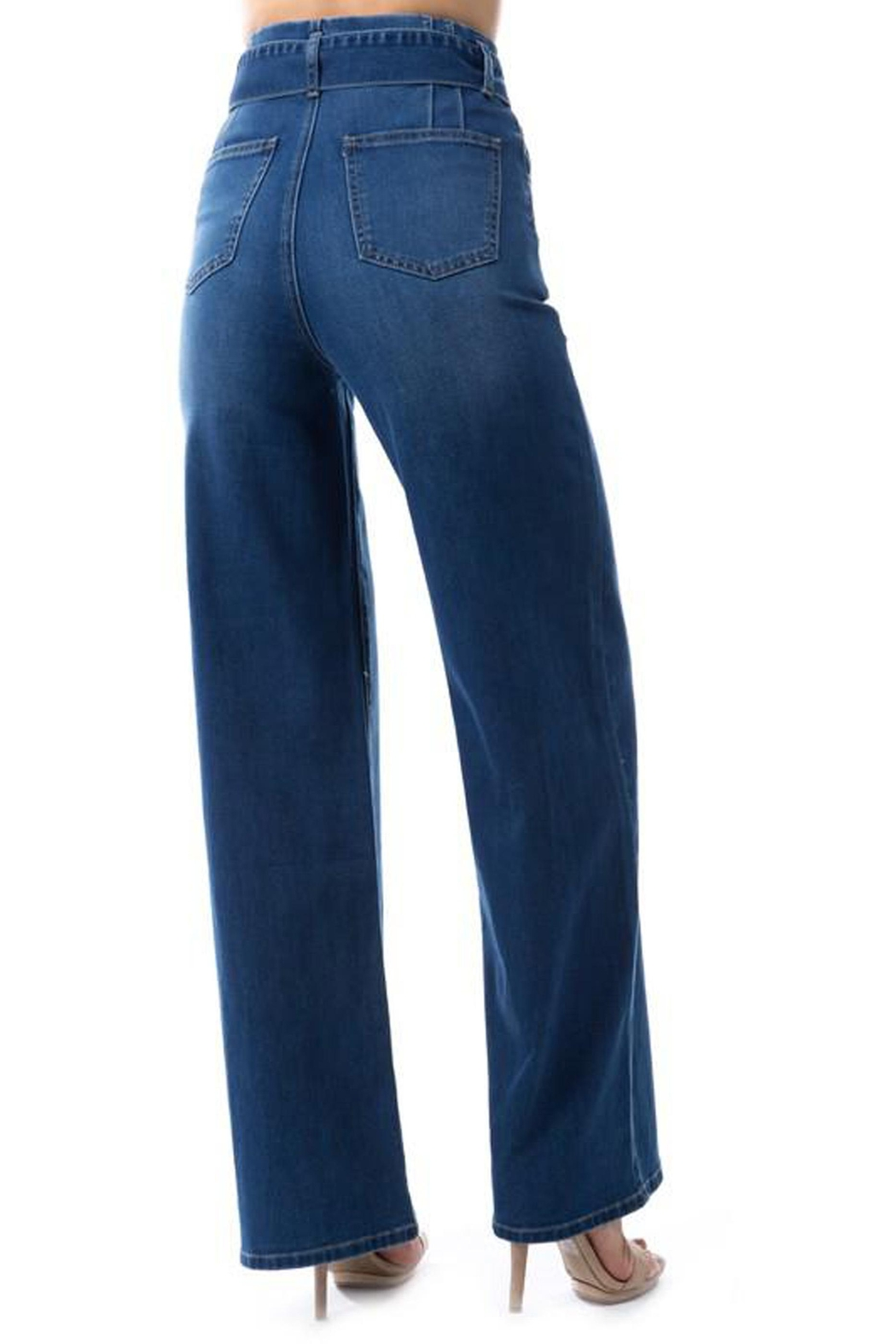 OnTwelfth High-Rise Wide-Leg Jean - Side Cropped Image