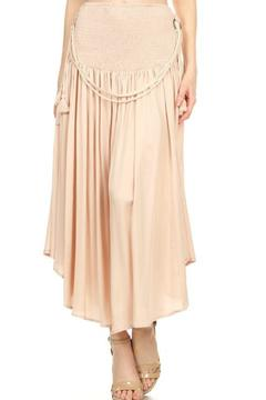 Ontwelth Beige Maxi Skirt - Product List Image