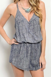 OnTwelfth Racerback Crop Romper - Product Mini Image