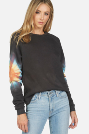 Michael Lauren Onyx Sunburst Pullover Sweatshirt - Product Mini Image