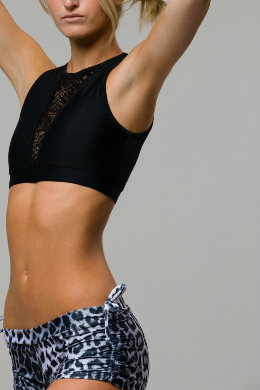 Onzie Crop Top - Front Full Image