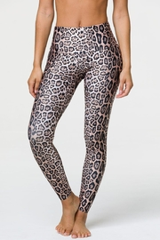 Onzie High-Rise Leopard Legging - Front cropped