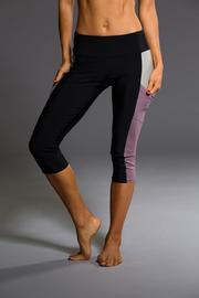 Onzie Black Capri Leggings - Product Mini Image
