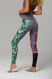 Onzie Printed Legging - Back cropped