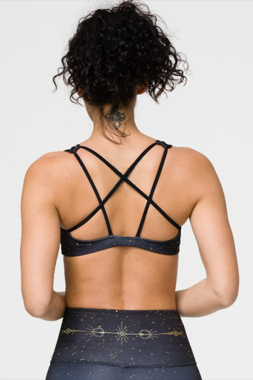 Onzie Sacred Geometry Sports-Bra - Side Cropped Image