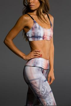 Shoptiques Product: Tie-Dye Sports Bra
