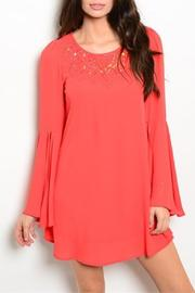 Ooh La La Boutique Coral Dress - Product Mini Image