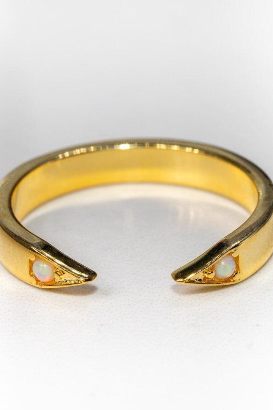 Leslie Francesca Opal Point Cuff Ring - Main Image
