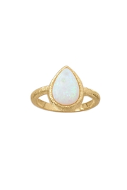 Wild Lilies Jewelry  Opal Teardrop Ring - Product Mini Image