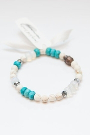 Emery West jewelry Opal Turquoise Buddha Bracelet - Product Mini Image