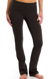 T Party Opaque Colored Yoga Pants - Product Mini Image