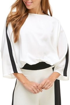 Shoptiques Product: Open Back Colorblock Top