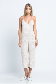 skylar madison Open-Back Crop Jumpsuit - Product Mini Image