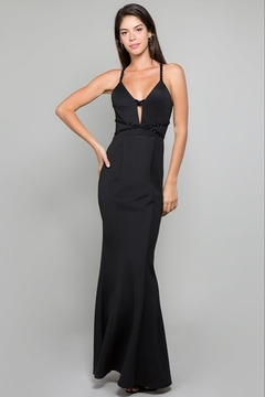 Minuet Open Back Gown - Product List Image