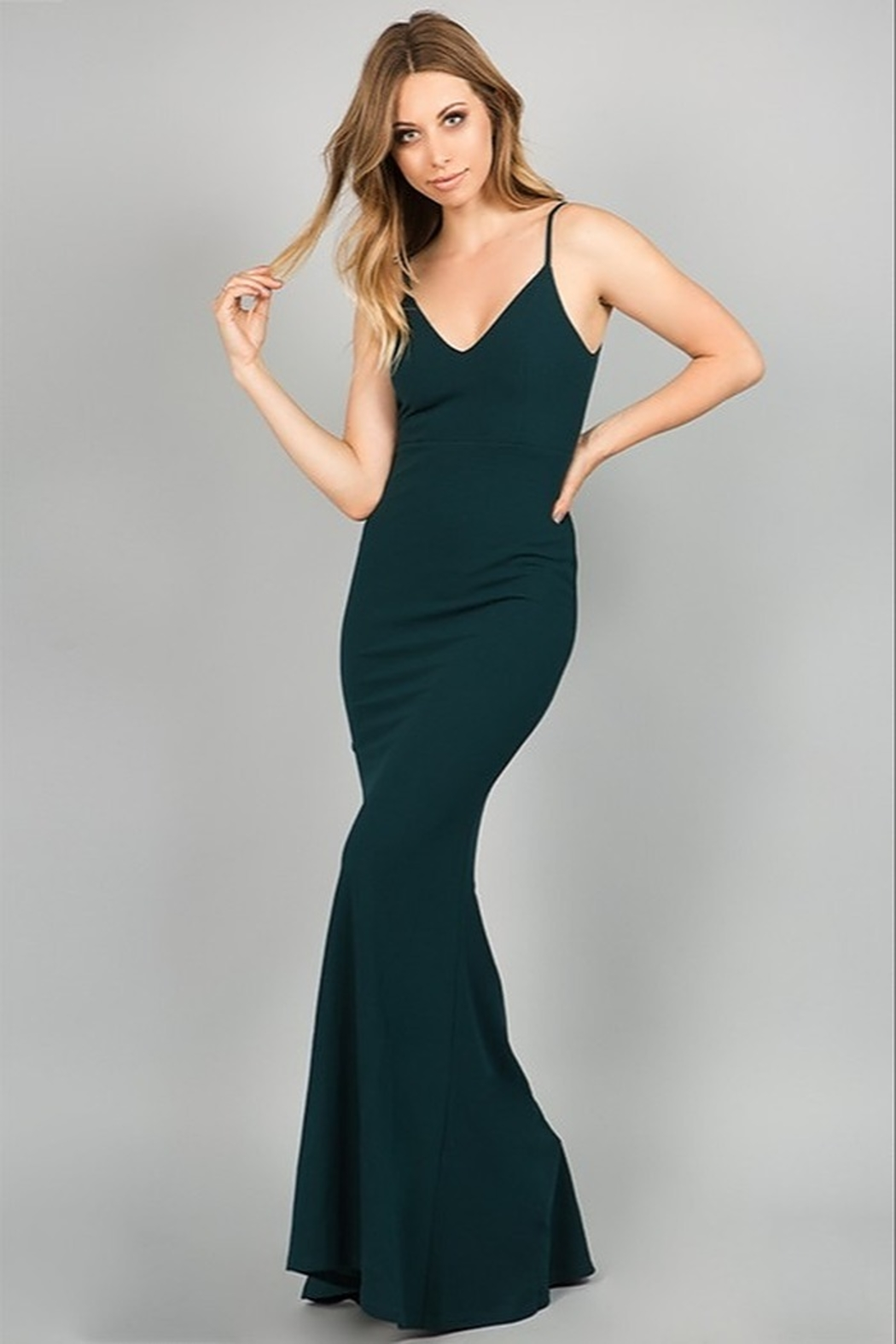Minuet Open Back Gown - Main Image