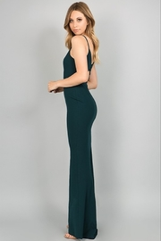 Minuet Open Back Gown - Front full body