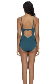 Skye Swimwear Open Back Maillot - Side cropped