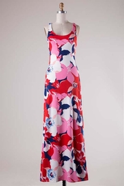 Compendium boutique Open-Back Maxi Dress - Product Mini Image
