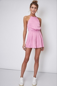 Idem Ditto  Open Back Romper - Product List Image