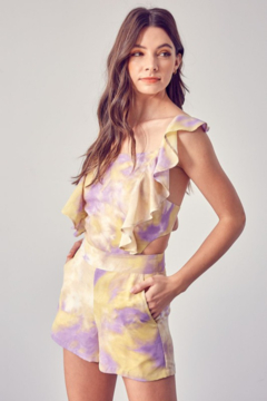 Do + Be  Open Back Romper - Product List Image