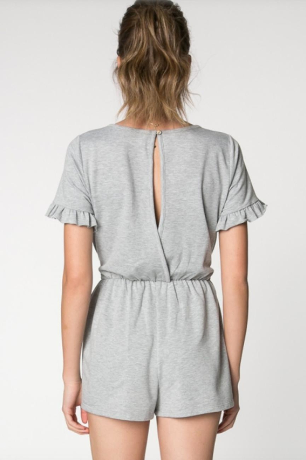 75b38f296e28 Everly Open Back Romper from Virginia by Sweetest Stitch — Shoptiques