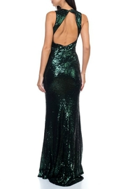 Ricarica Open Back Sequin Gown - Front full body
