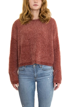 Blank NYC Open Back Sweater - Product List Image