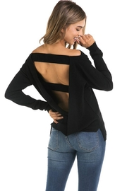 R+D Hipster Emporium  Open Back Sweater - Product Mini Image