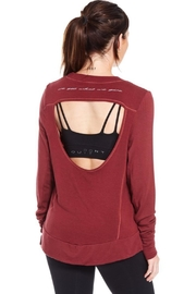 Good hYouman Open Back Sweater - Side cropped