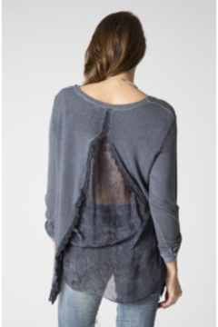 Look Mode Open Back Sweater - Product List Image