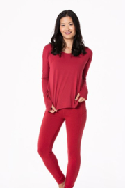 Kickee Pants Open Back Top - Front full body
