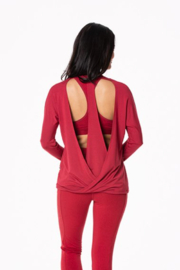 Kickee Pants Open Back Top - Front cropped