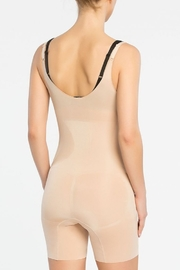 Spanx Open Bust Mid-Thigh Bodysuit - Side cropped