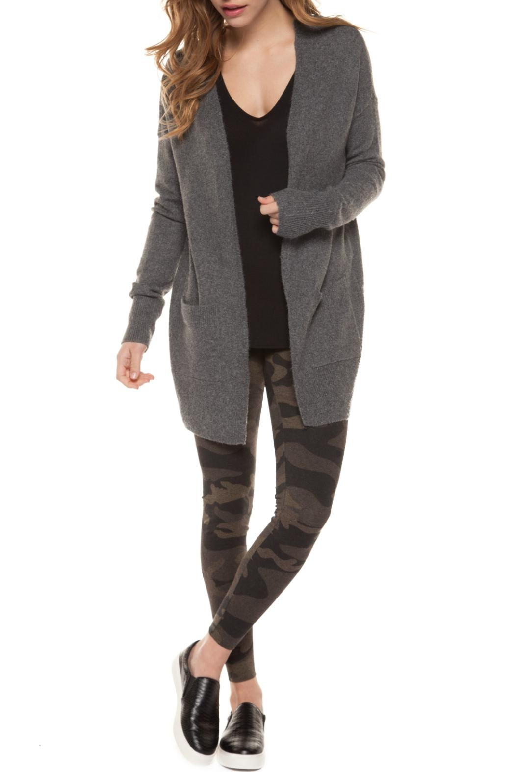 Dex Open Cardigan - Front Cropped Image