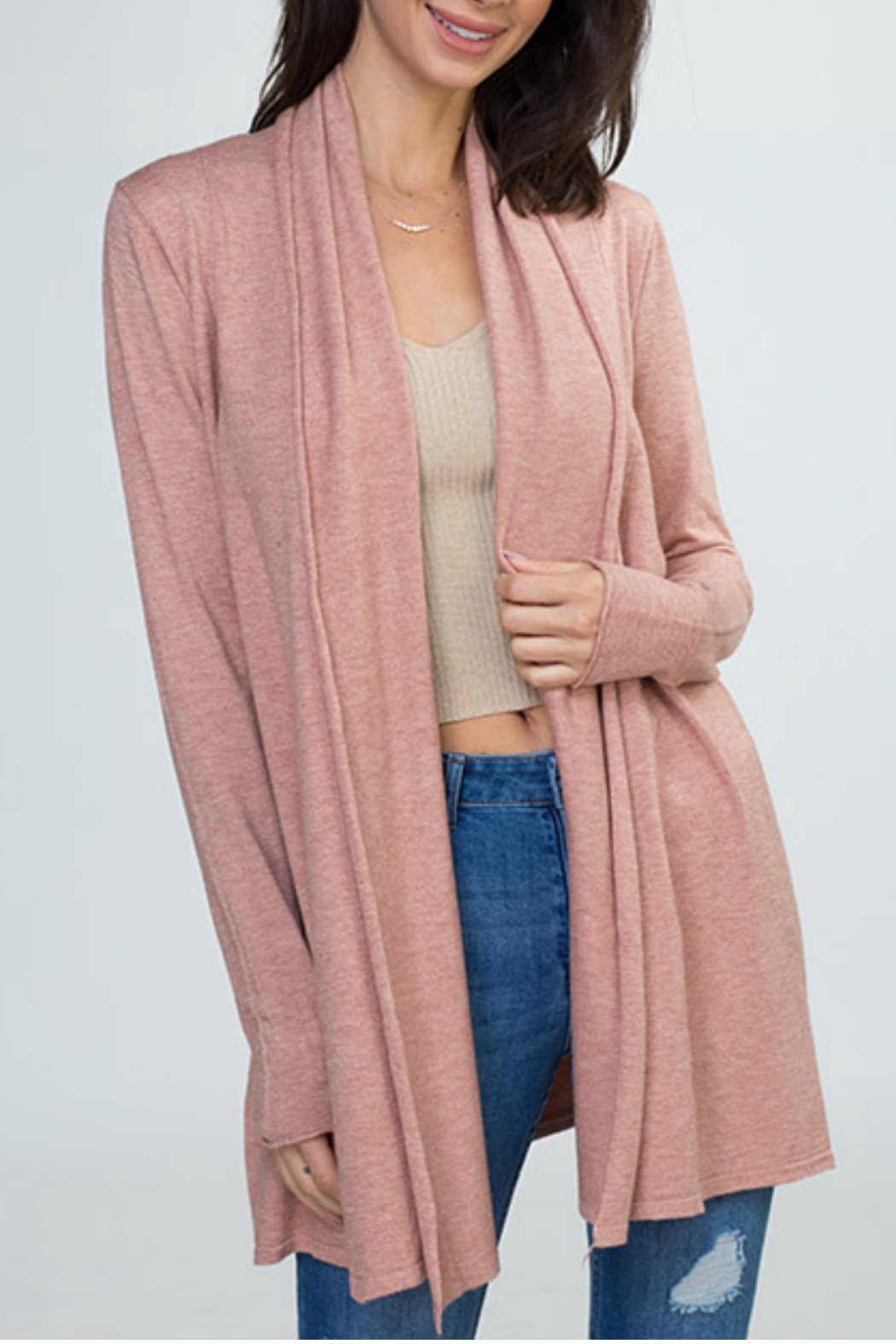 Dreamers Open Cardigan - Main Image