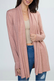 Dreamers Open Cardigan - Front cropped